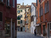 Venice, Italy, June 22, 2012 . Italy , Venice. Typical urban view in the early morning — Stock Photo