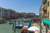 Italie, venise. vue du grand canal — Photo