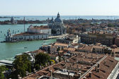 View of the city from the bell tower of the Cathedral of San Marco — Stok fotoğraf