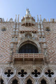 Venice, Italy . Architectural details of the Cathedral of San Marco — Stock Photo