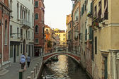 Venice. Typical urban view in the early evening — Stock Photo