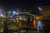 Italie, venise. vue urbaine typique du soir — Photo