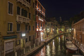 Italy , Venice. Typical urban view in the evening — Stock Photo