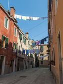 Venice, Italy, June 24, 2012 . Typical urban view summer day — Stock Photo