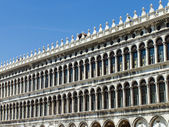 Venice, Italy . Architectural detail of the Doge's Palace — Stock Photo