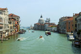 Italy , Venice. View of the Grand Canal — Stock Photo