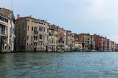 Italy , Venice. View of the Grand Canal in the early evening . — Stock Photo