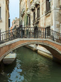 Italy , Venice. City view to chanel — Stock Photo