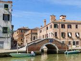 Venetië, italië, 26 juni 2012. typisch stedelijke weergave — Stockfoto