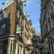 Amsterdam, The Netherlands. Typical city view — Stock Photo #40997949