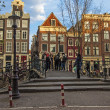 Amsterdam, The Netherlands. Typical city view — Stock Photo #41025915