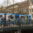 Amsterdam, The Netherlands. Typical city view — Stock Photo #41035823