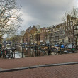 Amsterdam, The Netherlands. Typical city view — Stock Photo #41045757