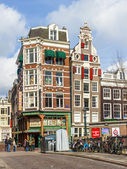 Amsterdam, The Netherlands . Typical urban view — Stockfoto
