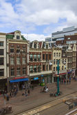 Amsterdam, The Netherlands, Type of Dam Square Window — Stok fotoğraf