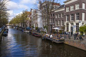Amsterdam, The Netherland. Typical cityscape — Stock Photo