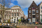 Amsterdam, The Netherland. Typical cityscape — Stockfoto