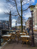 Amsterdam, The Netherland. Typical cityscape — Foto de Stock