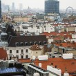 Vienna , Austria October 29, 2011 . City view from the tower of St. Stephen's Cathedral — Stock Photo #42213113