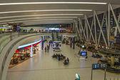 Budapest, Hungary, March 27, 2013. Waiting Room Flight International Airport Franz Liszt — Stock Photo