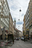 Vienna , Austria , March 24, 2014 . Typical urban view — Stock Photo