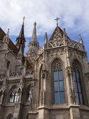 Budapest, Ungheria. architettura di una cattedrale di San matiash a buda — Foto Stock