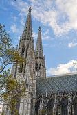 Vienna, Austria. Votiv Kirkhe's architectural details — Stock Photo
