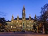 вена, австрия, 24 марта 2014 года. вечерний город — Стоковое фото