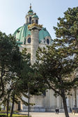 Vienna, Austria. Karlskirkhe — Stockfoto