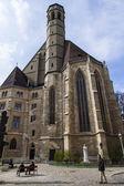 Wien, Österreich, am 24. März 2014. die Minoritenkirkhe Kirche (Xiv Jahrhundert) — Stockfoto