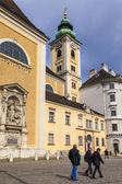 Viena, austria. vista urbana típica de la parte turística de la ciudad — Foto de Stock