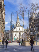 Budapest, Hungary . Typical urban view — Stock Photo