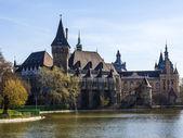 Budapest, Hungary. Castle Vaydahunyad — Stockfoto
