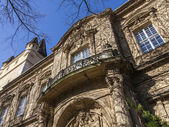 Budapest, Hungary. Castle Vaydahunyad . Architectural details. — Stock Photo