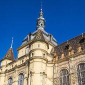 будапешт, венгрия. замок vaydahunyad. архитектурные детали. — Стоковое фото