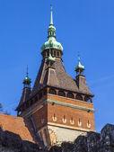 Budapest, Hungary. Castle Vaydahunyad . Architectural details. — Stock Photo
