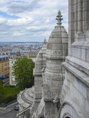 Paris, France. View of the hillside of Montmartre with Sacre Coeur — Stock Photo