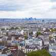 Paris, France, April 29, 2013 . View of the city from the observation platform of the Basilica of Sacre Coeur in Montmartre — Stock Photo #44982163