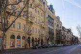 Budapest, hungría. vista urbana típica — Foto de Stock