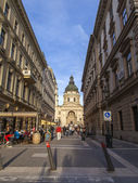 Budapest, Hungary. Typical urban view — Foto Stock