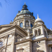 Budapest, Hungary. Architectural detail of the Basilica of St. Stephen — Zdjęcie stockowe