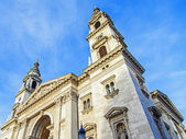 Budapest, Hungary. Architectural detail of the Basilica of St. Stephen — Foto Stock