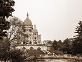 Paris, France. Architectural detail of the Sacre Coeur in Montmartre hill — Stock Photo