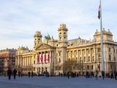 Budapest, Hungary, March 22, 2014 . Typical urban look — Stock Photo