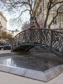 Budapest, Hungary, March 21, 2014 . Monument to Imre Nagy — Stock Photo