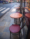 Paris, France. Summer outdoor cafes — Stock Photo