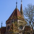 Budapest, Hungary, March 22, 2014 . Calvinist Reformed Church on the Danube — Stock Photo #45781103