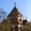 Budapest, Hungary, March 22, 2014 . Calvinist Reformed Church on the Danube — Stock Photo #45781121