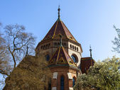 Budapest, Hungary, March 22, 2014 . Calvinist Reformed Church on the Danube — Stock Photo