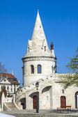 будапешт, венгрия. рыбацкий бастион. рыбацкий бастион является одним из самых узнаваемых и популярных достопримечательностей — Стоковое фото